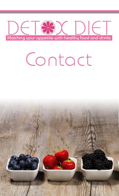 contact detox diet