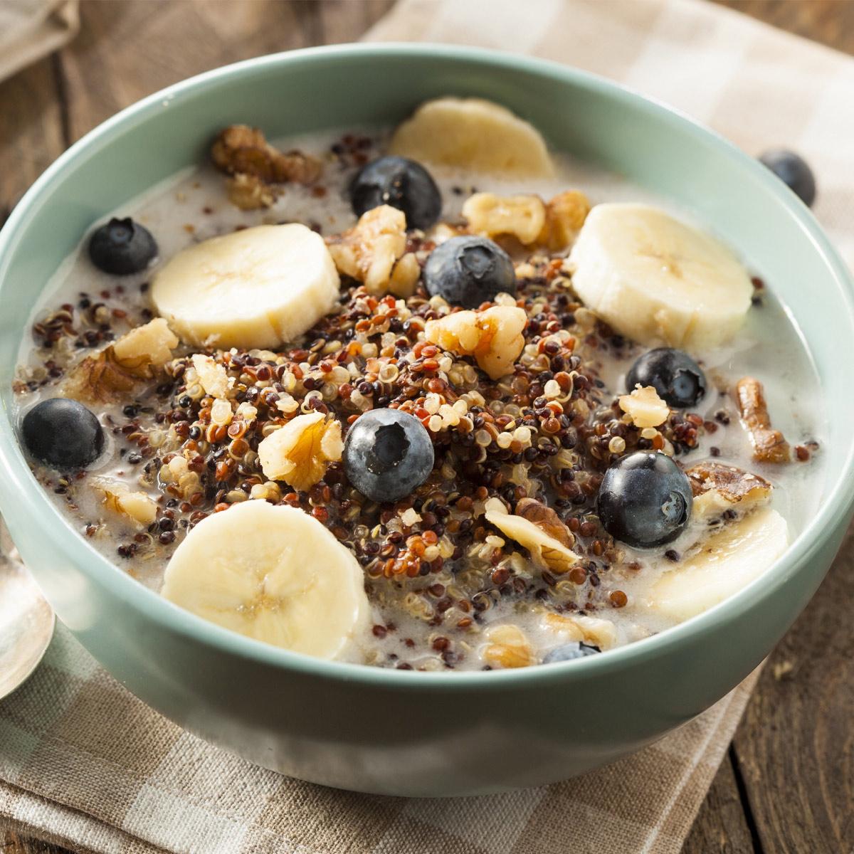Quinoa breakfast recipe